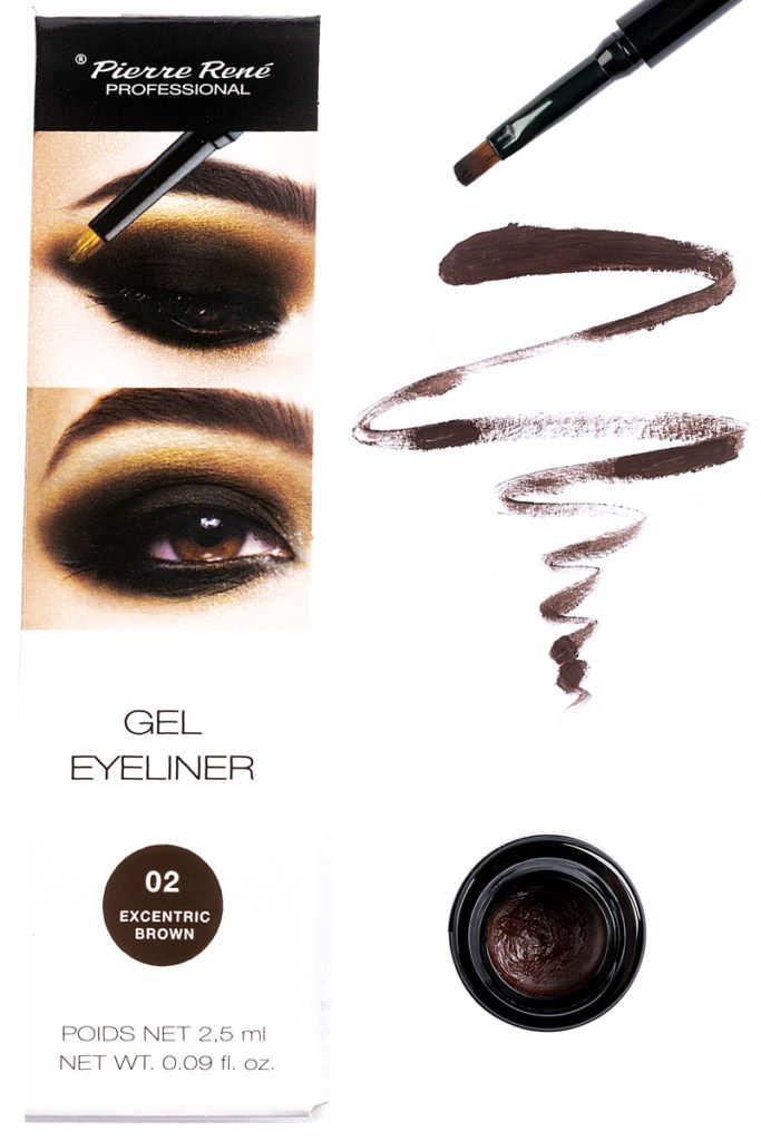 2 Gel Eyeliner Shades With A brush 2