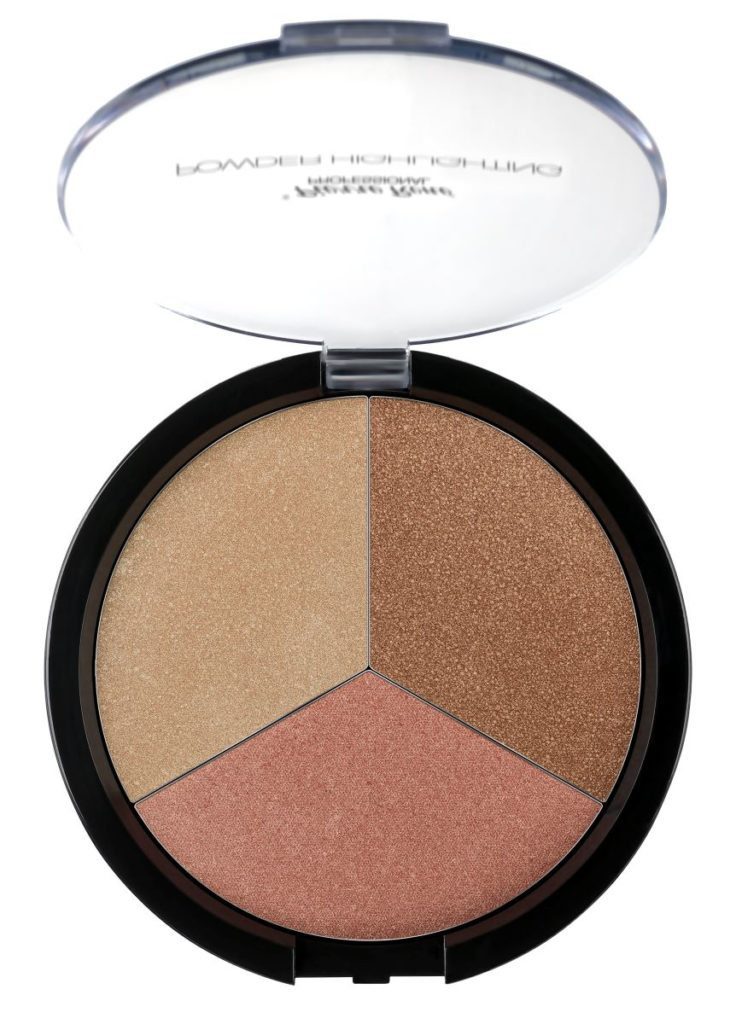 3 Shades Highlighting Powder Palette 2